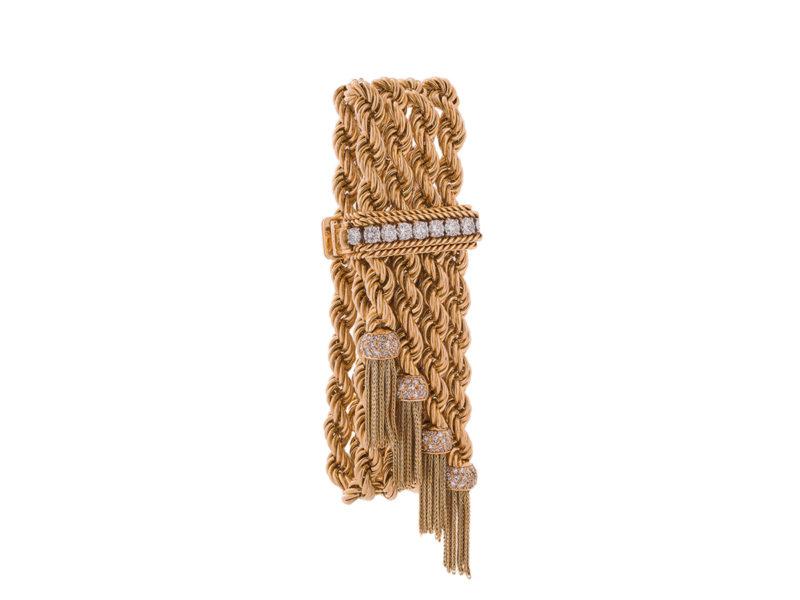 Diamond set bracelet by Van Cleef & Arpels