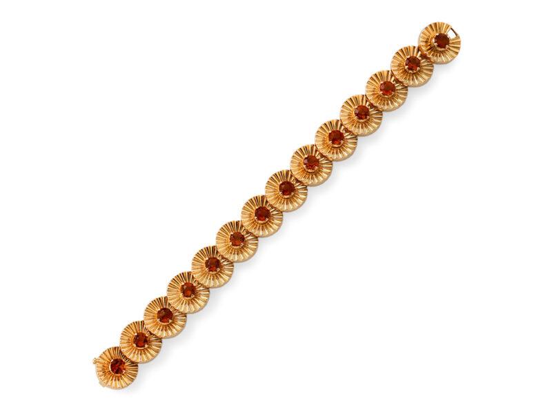 Citrine Set Bracelet