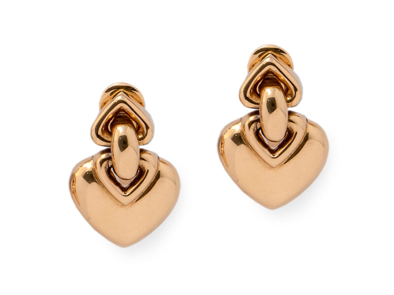 Gold Earrings By Bulgari