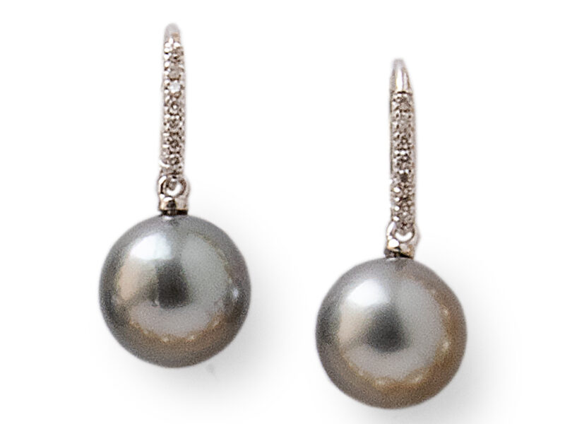 Tahitian Cultured Pearl Earrings