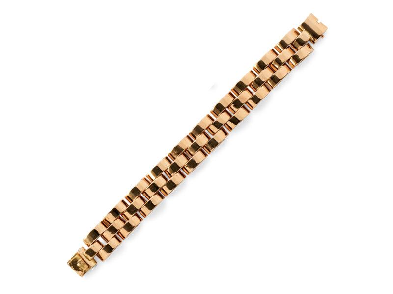 Bracelet Stamped 18ct